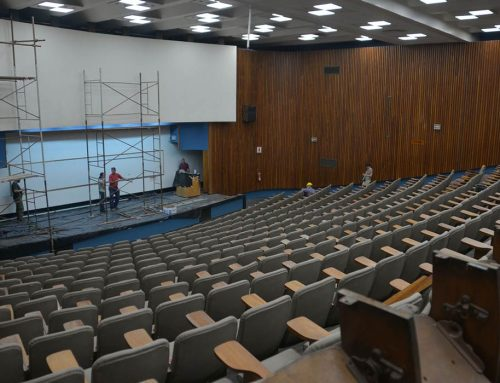 Remodeling of Pavilion I's Central Hall